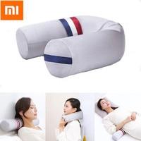 Xiaomi PMA Pillow USB Heating Neck Headrest 3 Modes U Shape Column Cushion Sleep Travel Pillow Folding