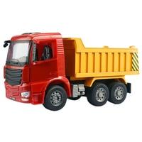 1:20 Simulation Manual Engineering Vehicle Dump Truck Dumper Model Transport Truck Children Toy Car Diecasts & Toy Vehicles