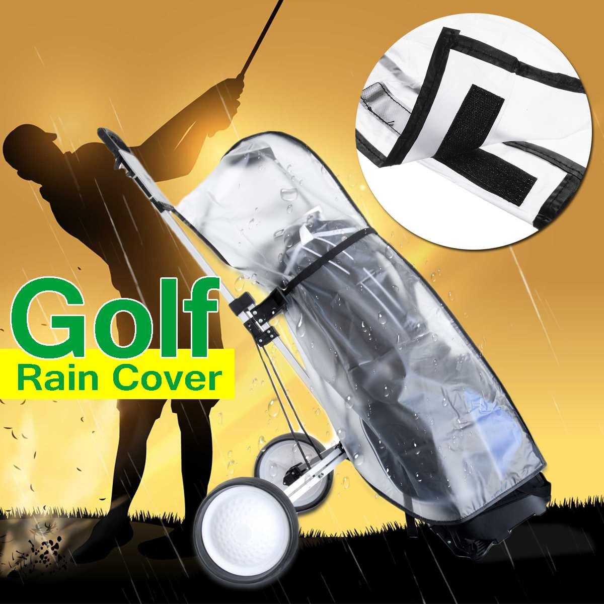 Protector Shield Golf-Bag Standard-Ball Transparent Dustproof Outdoor Rod PVC Store Anti-Dust