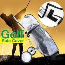 ПВХ мешок для гольфа Водонепроницаемый пылезащитный Гольф дождевик Щит Открытый стержень протектор прозрачный магазин Анти-пыль стандартный мяч Multifu