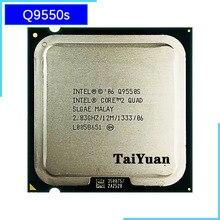 إنتل الأساسية 2 رباعية Q9550S 2.8 GHz رباعية النواة معالج وحدة المعالجة المركزية 12 M 65 W 1333 LGA 775