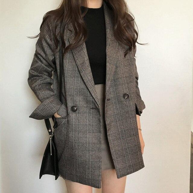 Oferta 2019 ropa de oficina Primavera abrigo coreano