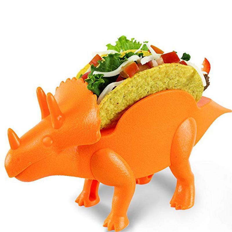 Material de Cozinha Titular Alimentos Dinossauro Fubá Burritos Taco Holder Titular Titulares de Exibição de Alimentos De Alimentos Da Cozinha Rack de Shell