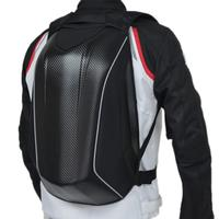 Motorcycle Hard Case Bag Cycling Backpack Motorcycle Carbon Fiber Racing Backpack Waterproof Luggage Bags