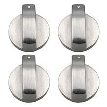 SANQ плиты ручки для плиты, ручка духовки(4 шт.), 6 мм Универсальные серебряные ручки управления газовой плитой адаптеры духовка поворотный переключатель приготовления пищи для серфинга