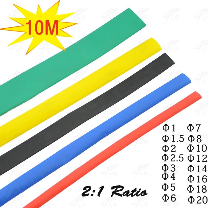 145Pcs Large Size Heat Shrink Tube Combo Pack Total Length 71ft Jumbo NEW