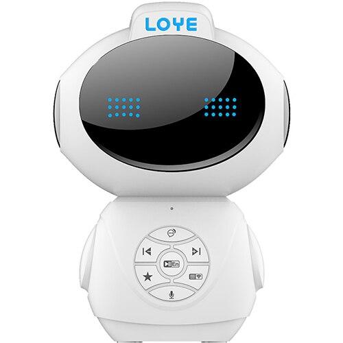 Jouet de Machine d'apprentissage de carte mémoire évolutive de Dialogue vocal Intelligent de Robot d'éducation précoce de LOYE LY-L4 pour des enfants de 0-14 ans