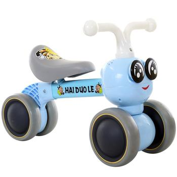 Hai Dou Le 12 Inch Toddler Bike No Pedals For 1 – 5 Year Old, 4 Wheel