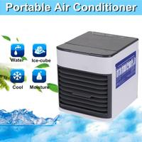Portable Mini Air Cooler Three Speed Air Conditioner Humidifier Purifier Air Fresheners for Home Office Household Merchandises
