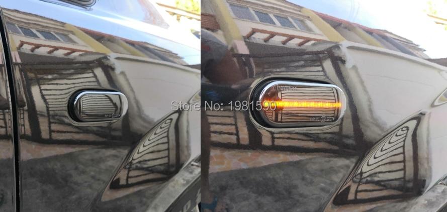 Chrome Mirror Cover 2 pcs S.STEEL Ford Focus Mk2 C-Max Fiesta V Fusion