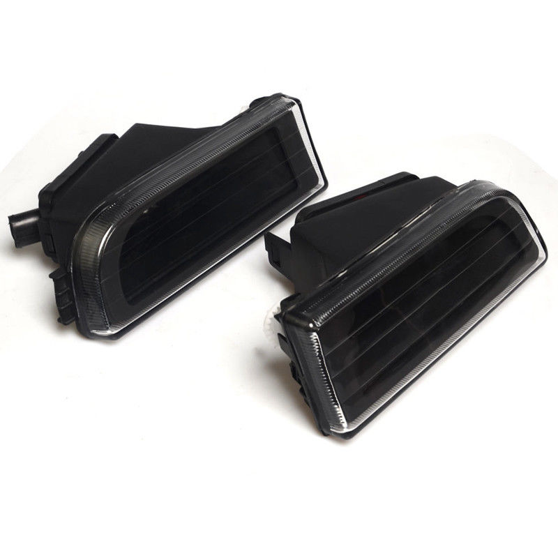 2 pcs Clear Lens Fog Bumper Lights Driving Lamps No Bulbs For BMW E38 7 Series 1995 2001 740i 750iL Car Motorcycle Accessories