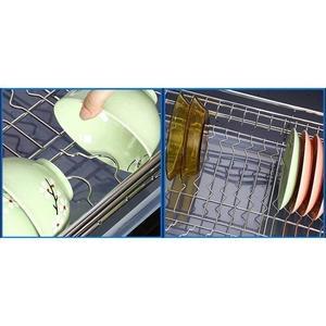 Image 5 - And Storage Organizador Armario Cocina Stainless Steel Cuisine Organizer Cozinha Kitchen Cabinet Cestas Para Organizar Basket