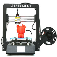 3D Printer I3 Mega Plus Size Full Metal Frame Lattice Platform Desktop Nozzle 3d Drucker Kit Industrial Grade Cheap