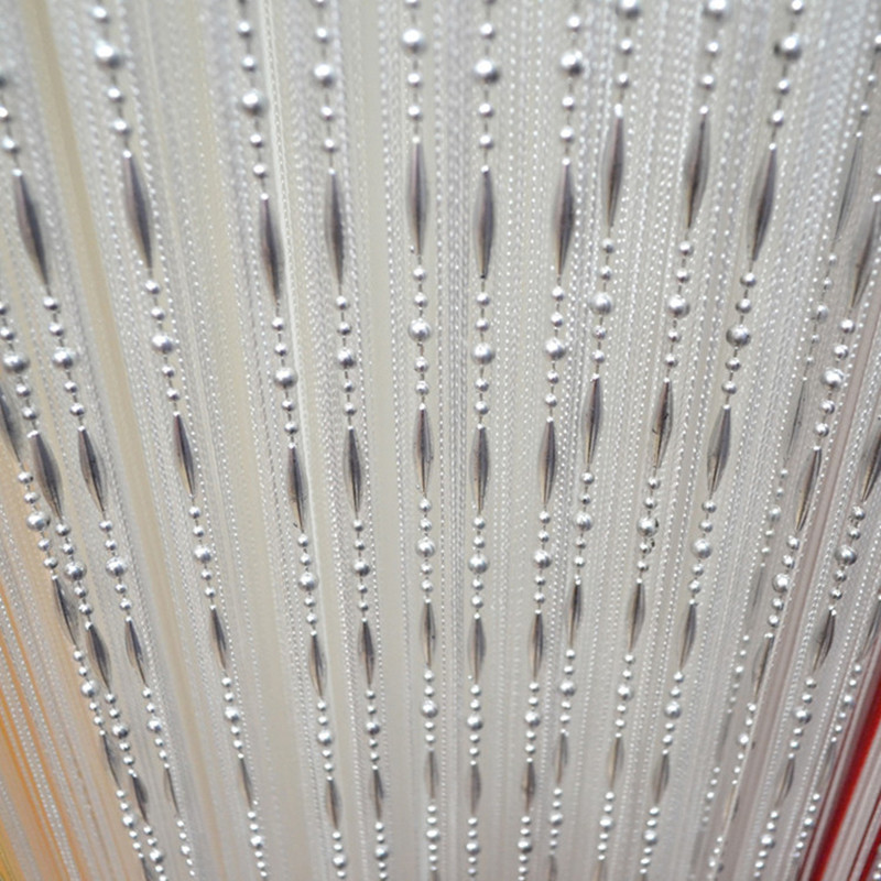 16 Colors Beads Curtain Door Window Curtain Living Room Divider Curtain Valance Party Wedding Decoration