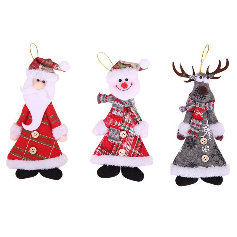 Cool Snowman Decoration Ornaments For Christmas Tree: Christmas Decorations Christmas Tree Pendant Ornaments