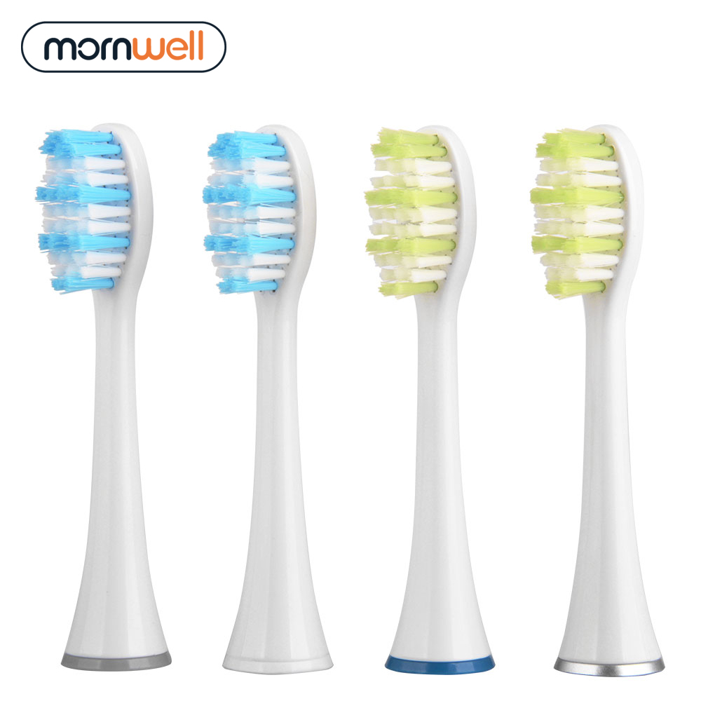 Home Appliances Mornwell 4pcs White Standard Replacement Toothbrush Heads With Caps For Mornwell D01/d02 Electric Toothbrush Replacement Toothbrush Heads