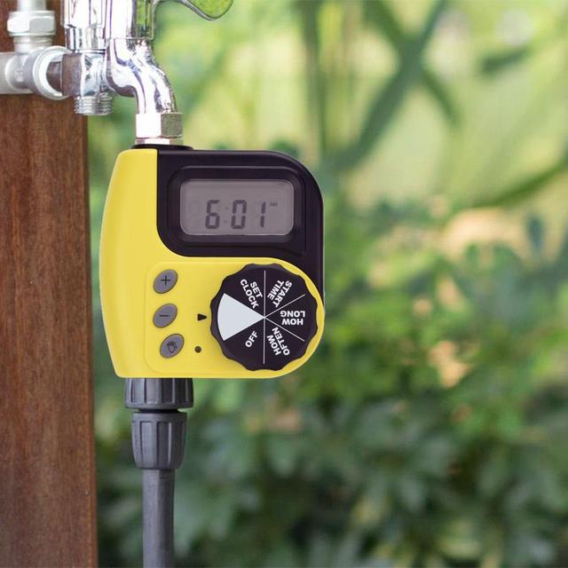 Smart Garden Water Timer Digital Electronic Watering Timer Home Automatic Watering Irrigation Timer Controller