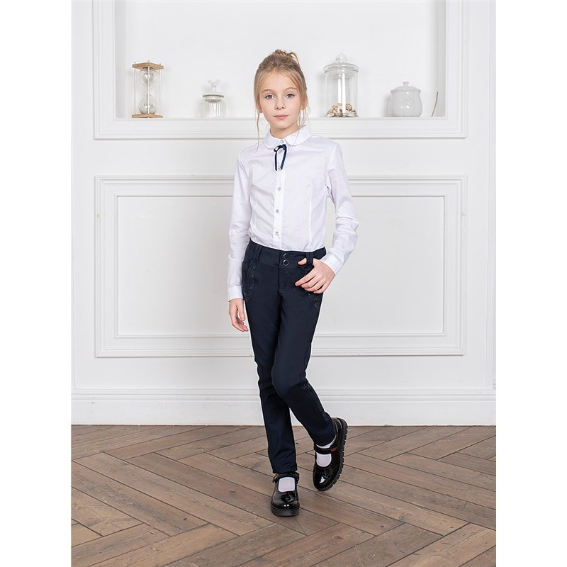 Фото - Blouses & Shirts Sweet Berry Blouse sewing for girls children clothing contrast lace keyhole back blouse