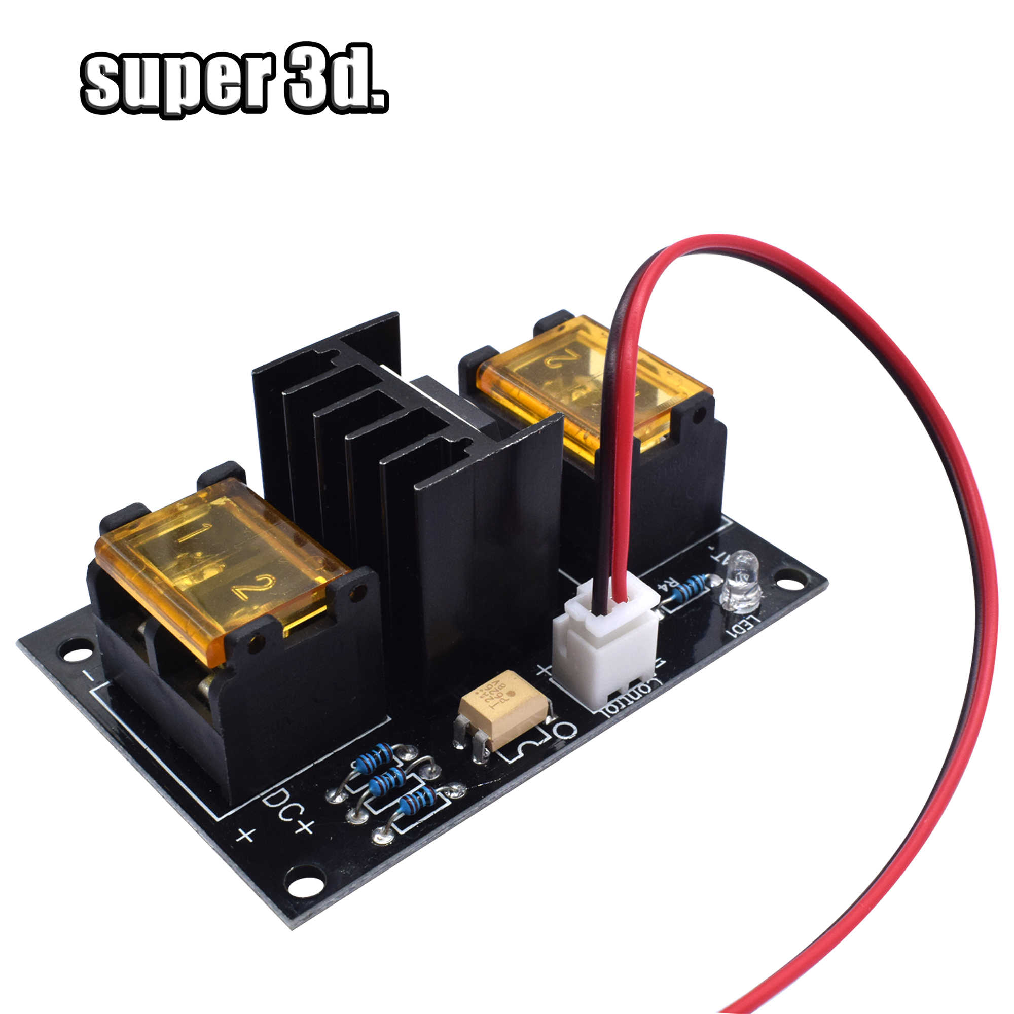 small resolution of  3d printer heated bed power module hotbed mosfet 30a expansion module inc 2pin lead with