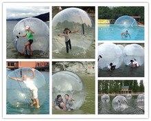 Мм Бесплатная доставка 0,8 м 2,5 мм ПВХ Надувной водный прогулочный шар человеческий хомяк шар Zorb шар пластиковый шар воды танцевальный шар игра