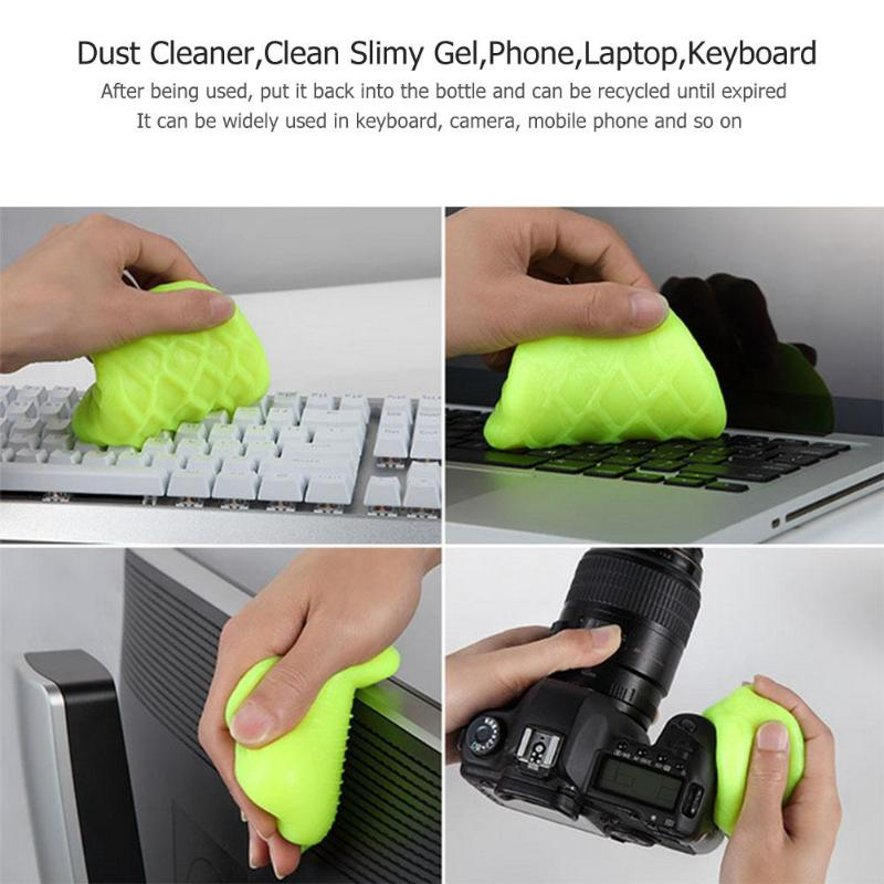 Image 5 - Dust Cleaner Compound Super Clean Slimy Gel Wiper for Phone Laptop Keyboard Scope of application keyboard, laptop,mobile phone-in Computer Cleaners from Computer & Office