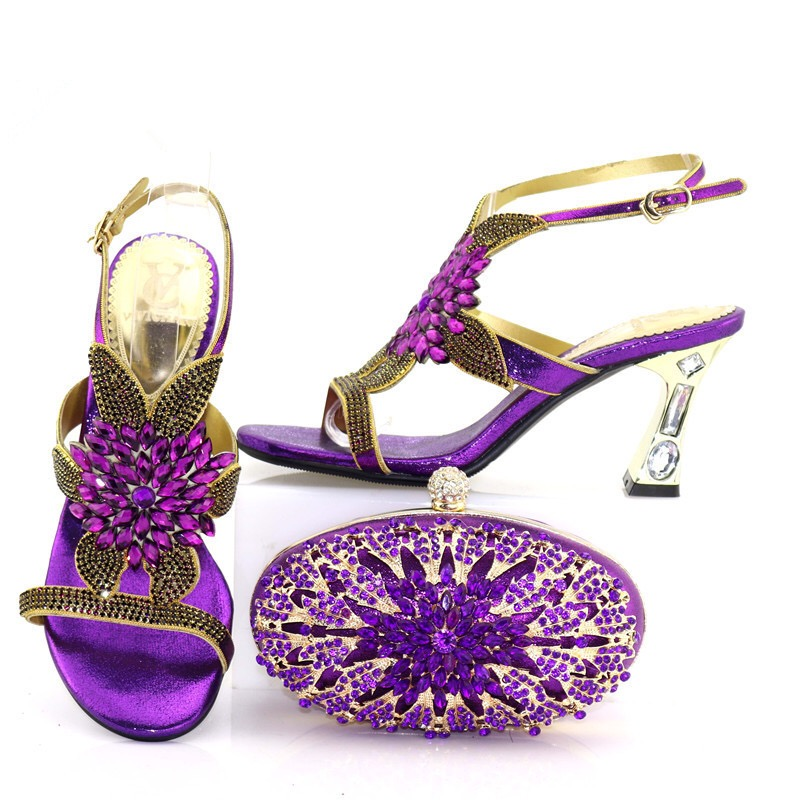 New African Shoes And Bags To Match Set High Quality Womwn Shoes And Bag Sets Italian Shoes And Bag Set For Party TX-723 hot artist shoes and bag set african sets italian shoes with matching bags high quality women shoes and bag to match set mm1055