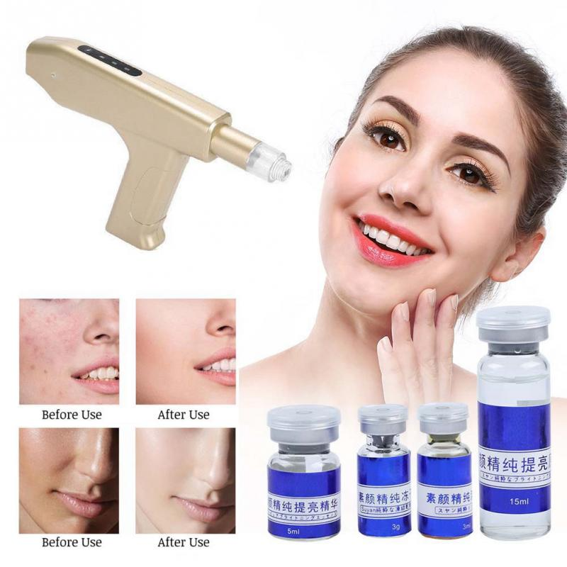Facial Polypeptide Revitalizing 6PCS Set Skin Care For Cooperating With Nano-microneedle Anti-aging Injection Gun Skin Accessory