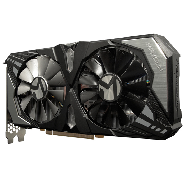 MAXSUN GeForce RTX 2060 Multifunctional Smooth Durable Graphics Cards 1920 CUDA Cores 6GB Video Memory Capacity X16 PCI