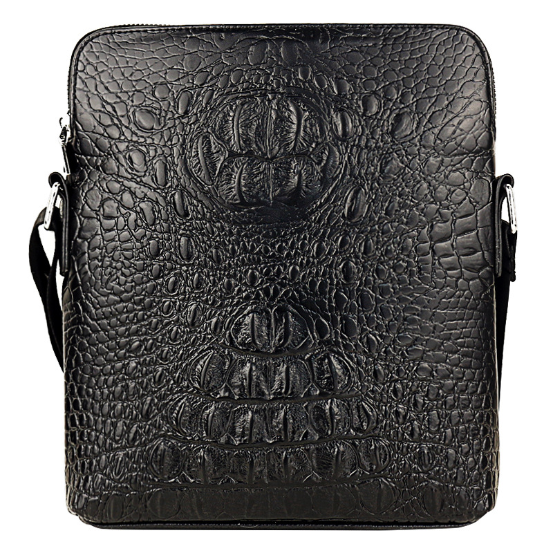 GUBAIYU Genuine Leather Crossbody Briefcase Mens Trendy Handbag Bag Soft High Quality Messenger ShouldBag Business Bag CrocodileGUBAIYU Genuine Leather Crossbody Briefcase Mens Trendy Handbag Bag Soft High Quality Messenger ShouldBag Business Bag Crocodile