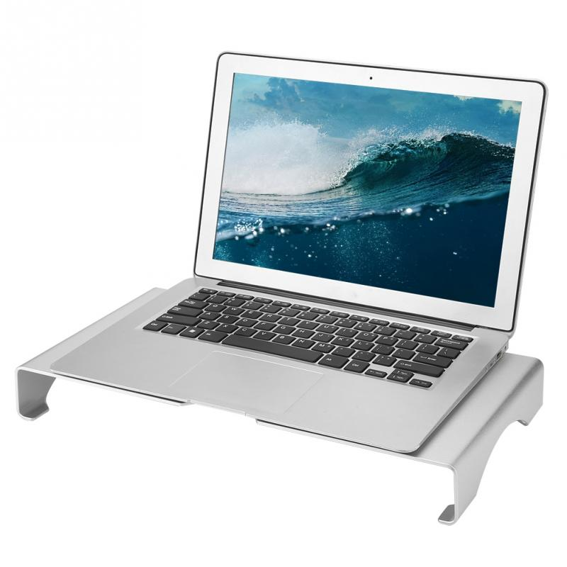 Aluminum Alloy Laptop Stand Computer Monitor Riser Holder Notebook Laptop Desk Stand Organizer Shelf for Macbook Xiaomi Laptop laptop holder
