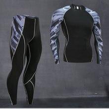 Men's Warm Long Johns Winter Warm Clothing Base layer Fitnes