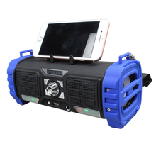 Portable Wireless bluetooth speaker with holder outdoor belly