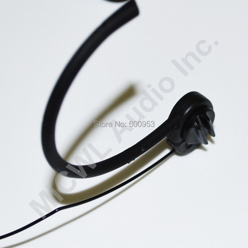 Foldable Microphone Head Wearing Headset Mic For Sennheiser XS EW100 300 500 G2 G3 G3 Wireless Mike BodyPack Transmitter in Microphones from Consumer Electronics