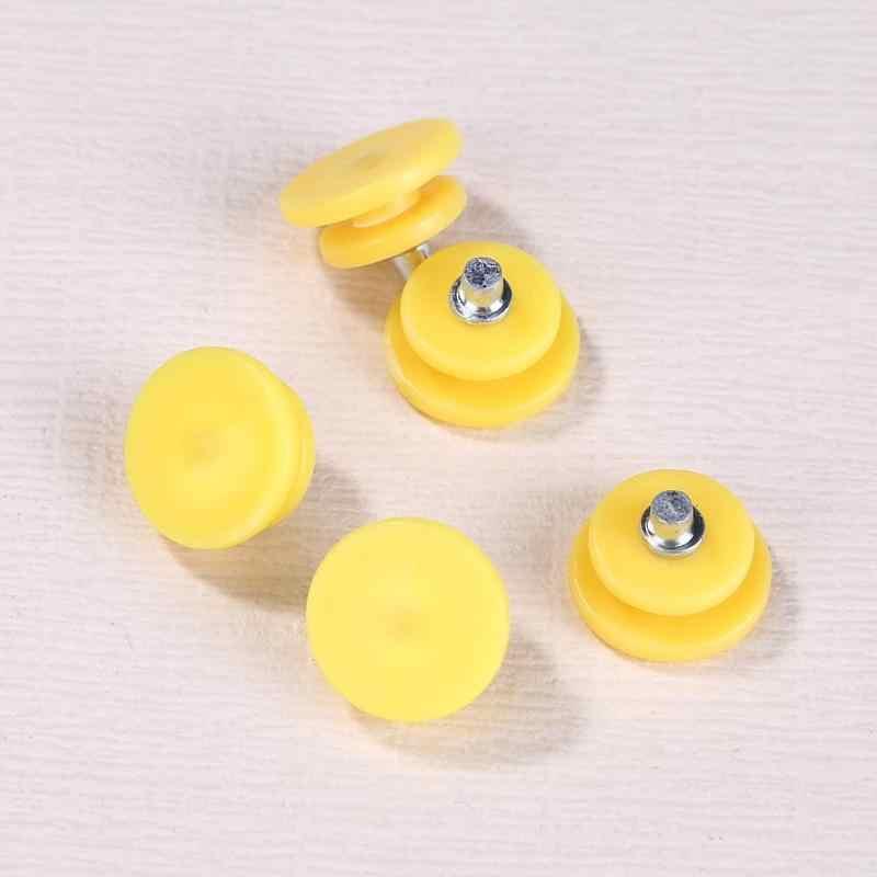 5 unidades/pacote Gelo Neve Escalada Anti-slip Calçados Capas Acessórios Gripper Garra Unhas Chuteiras Pico Crampons Ao Ar Livre Frio