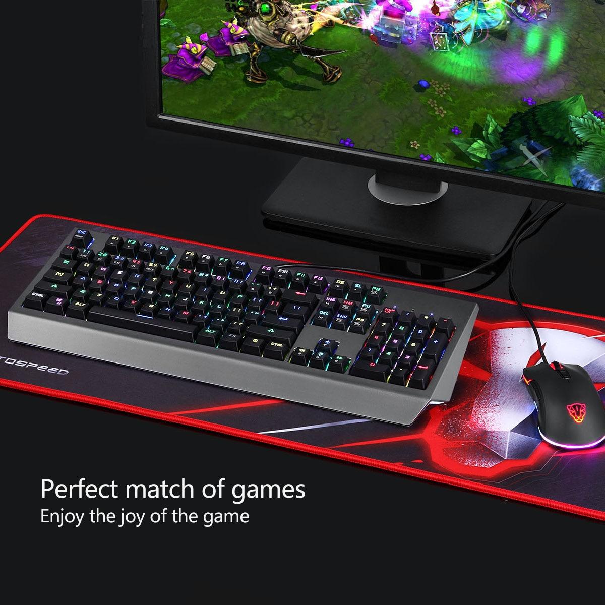 V30 3500 DPI 4 niveaux couleur rvb LED lumineux souris de jeu optique Combos clavier pour PC Gamer USB clavier souris rétro-éclairé - 6