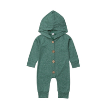 7 Color Baby Boy Girl Hooded Romper Kid Outerwear Outfit Jumpsuit for Newborn Baby Girl Infant Children Clothes Kid Clothing недорого