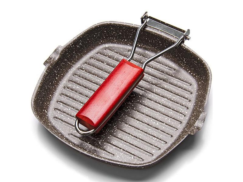 Frying Pan Grill MAYER & BOCH, 20*20 Cm, Brown