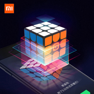 Image 2 - Newest  Xiaomi Giiker i3s AI Intelligent Smart Super Cube I3Y Smart Magic Magnetic Bluetooth APP Sync Puzzle Toy For Children