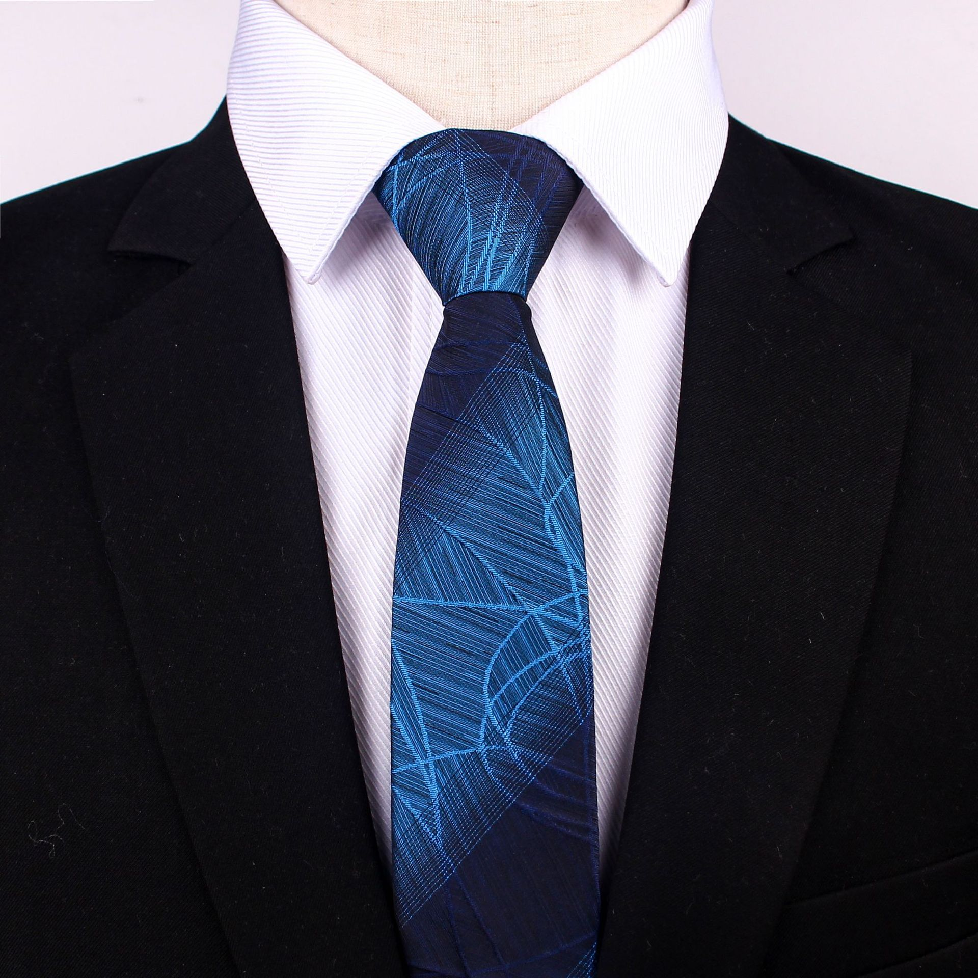 Fashion Solid Geschäfts Krawatten Für Männer Grün Gestrickte Gravatas Schwarz Party Männlichen Der Krawatten Hochzeit Rot Corbatas Blau # Yl Damen-accessoires Krawatten & Taschentücher