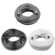 Cat5e Lan кабель металлический разъем Rj45 Utp Cat 5 кабель для подключения к сети 5 м, 10 м, 15 м, 20 м для Ps2 компьютер маршрутизатор для ПК