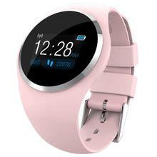 Q1 Womens Lady Bluetooth Smart Watch Heart Rate Monitor Wristband Sports Bracelet