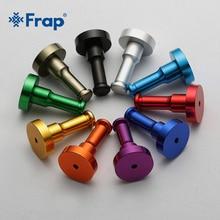 Frap настенный крючок для одежды, вешалка для одежды, кухонные алюминиевые металлические крючки для халатов, цветные крючки для халатов