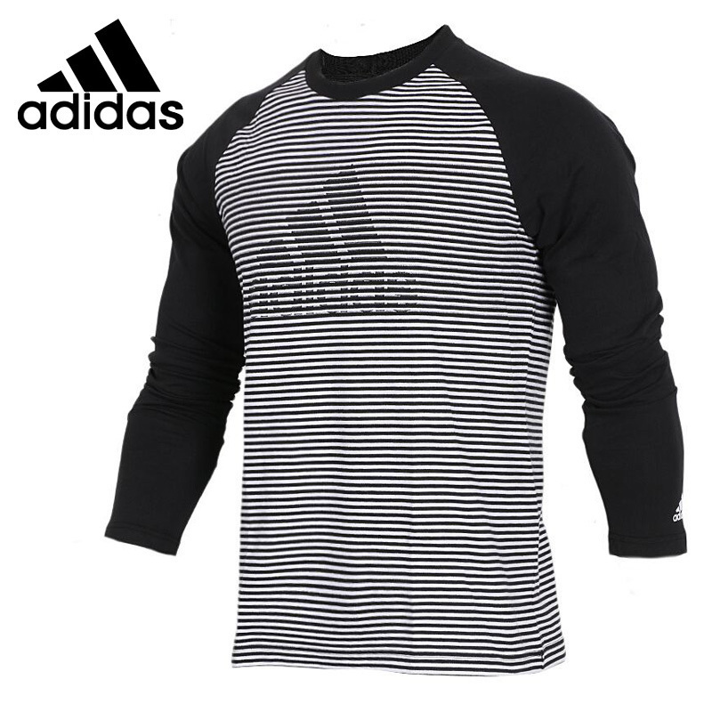 <font><b>Adidas</b></font> <font><b>Original</b></font> New Arrival LS T JAQ BRD Men's Running T-shirts High Quality Long Sleeve Sportswear#CX4980 image