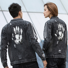 Mens Jacket 2019 Spring New Youth Denim Men And Women Trend Models Popular Casual Clothing