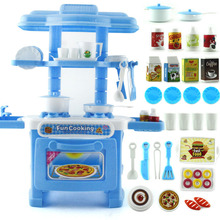 32 Pcs Kids Kitchen Toys Cooking Pretend Play Funny House Miniature Toy Set YJS Dropship