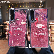 Liquid Quicksand Glitter Case For Huawei P20 P30 Mate 20 Pro 10 Plite P Smart Nova 3 3i 4 On Honor 7C 7A Pro 8X 10 9 lite Cases(China)