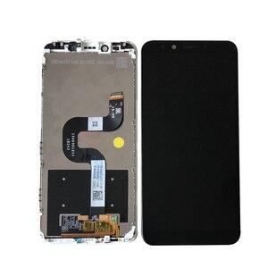 "Image 3 - 원래 Axisinternational 5.99 ""Xiaomi Mi A2 MIA2 LCD 디스플레이 화면 + Mi 6X MI6X M6X 용 프레임이있는 터치 패널 디지타이저"