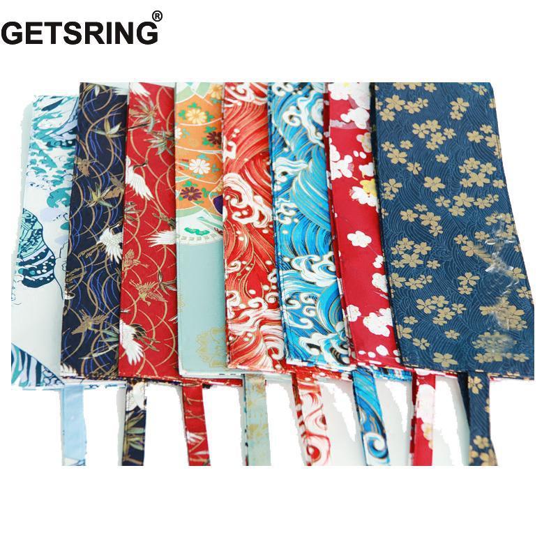 GETSRING Japanese Style Cotton Ceinture Femme Original Homemade Kimono Waist Belt Cummerbunds Retro Elastic Waist Belt 18 Colors