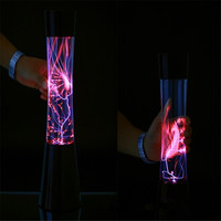 CLAITE Magic Glass Plasma Ball Light Global Electrostatic Ion Lamp LED Plasma Fantastic Night Light Crystal And Holiday Lamp 10W
