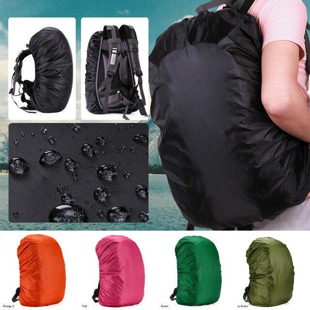 Портативный дождевик для путешествий Кемпинг непромокаемый Рюкзак Чехол Открытый альпинистский рюкзак влагозащищенный рюкзак сумка 1 шт.